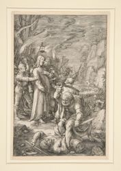 Christ Taken Captive (the Betrayal of Christ), from The Passion, #3 in a series of 12 engravings