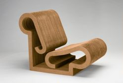 """""""Contour"""" Lounge Chair from the """"Easy Edges"""" Line"""