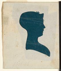 Silhouette - Mrs. Trumbull