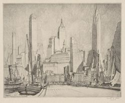 Financial Towers--Manhattan