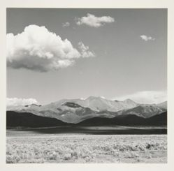 The Culebra Mountains near La Valley, Colorado