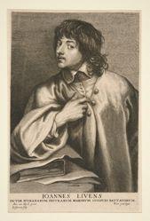 Portrait of Joannes Livens