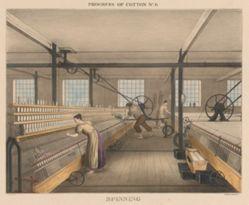 Progress of cotton, #6: Spinning