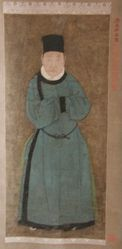 Portrait of Wang Wei