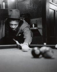 In a Harlem Poolroom