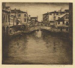 A Side Canal, Venice