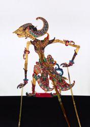 Shadow Puppet (Wayang Kulit) of Nakula or Pinten
