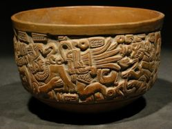 Bowl with Human Figures