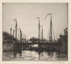 Bridge, Rotterdam (Chioggia: Fishing Boats)