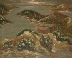 Untitled (Sea-Landscape; View of Menemsha Harbor)