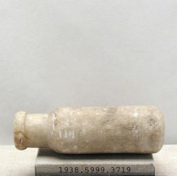 Alabaster bottle