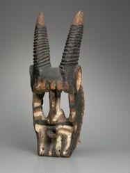 Mask Representing an Antelope (Walu)