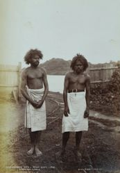 Labour Men-Rewa River-Fiji