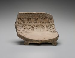 Fragment of mold for bowl