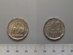 10 Peso from Argentina