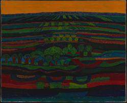 Abenddammerung (Landscape at Dusk)