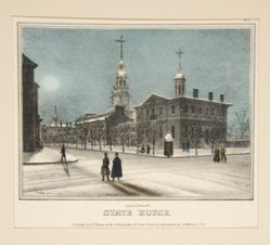 State House from Views of Philadelphia and Its Vicinity