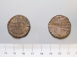 Silver Groat of Henry VIII from Bristol