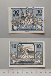 10 Heller from Abtenau, issued May 30, 1920, redeemable Dec. 31, 1920, Notgeld