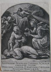 The Death of Saint Cecilia