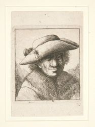 Portrait of Man with Hat