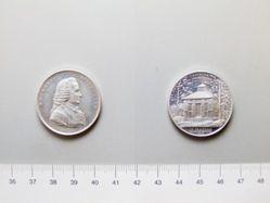 Aluminium Medal of Emanuel Svedenborg of Sweden
