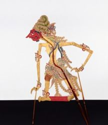 Shadow Puppet (Wayang Kulit) of Basuki, from the consecrated set Kyai Nugroho