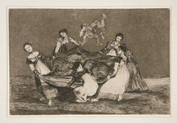 Disparate femenino (Feminine Folly), pl. 1 from the series Los proverbios