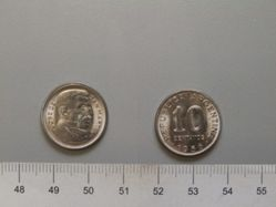 10 Centavos of the Republic of Argentina