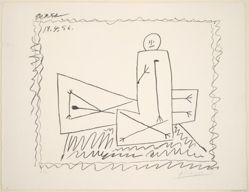 Personnage assis et personnage couché (Seated Figure and Reclining Figure)