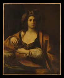Artemisia, the widow of Mausolus, King of Caria