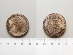 Coin from Tuscany under Leopold II