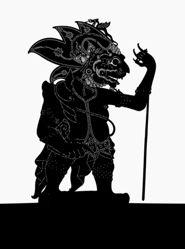 Shadow Puppet (Wayang Kulit) of Padas Gembol