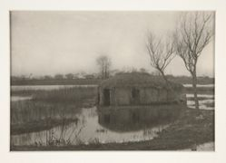 A Reed Boat-House, Plate XXXI from Life and Landscape on the Norfolk Boards