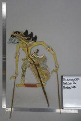 Shadow Puppet (Wayang Kulit) of Tuhoyoto, from the set Kyai Drajat