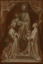 Study for the Virgin and Child with Saints Cecilia and Agnes