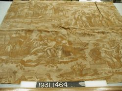 "Length of printed linen, ""History of Joseph"""