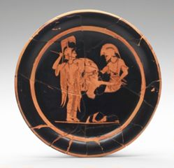 Plate showing Ajax and Kassandra