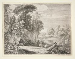 The Donkey Led to the River, from the set The Flight into Egypt
