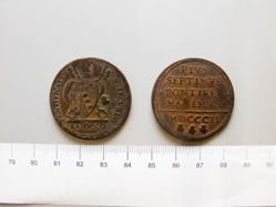 Baiocco of Pope Pius VII from Rome