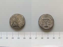 Billon Tetradrachm of Ardashir I from Persia