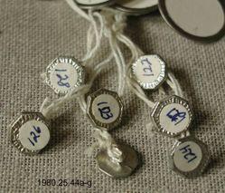 7 octagonal buttons