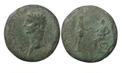 "Coin of C. Caesar Augustus Germanicus (""Caligula""), Emperor of Rome from Thrace"