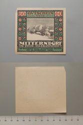 60 Heller from Mitterndorf, Notgeld