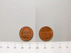 Copper Centesimo from Milan