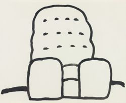 Untitled [Arm Chair], from Suite of 21 Drawings
