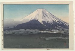 Mount Fuji, Seen from Yoshida