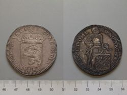 Silver Ducat of the United Netherlands from Groningen and Ommeland