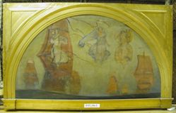 Compositional Study, for The Spirit of Religious Liberty, Rotunda, Pennsylvania State Capitol, Harrisburg