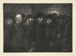 Ouvriers sortant de l'usine (Workers Leaving the Factory)